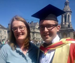 Shane's graduation